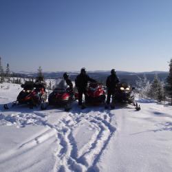 la moto neige