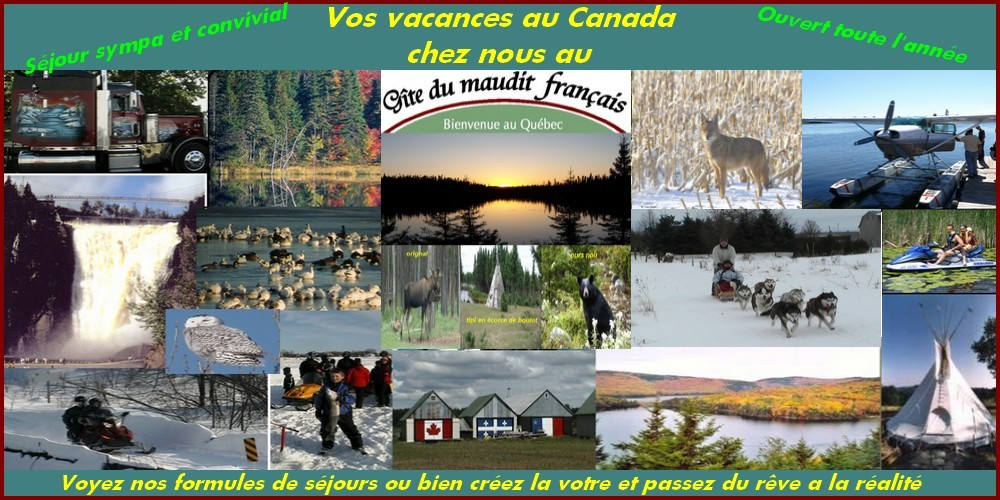 VACANCES AU CANADA PAS CHRES
