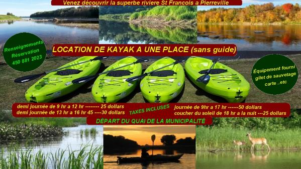 Location de kayak