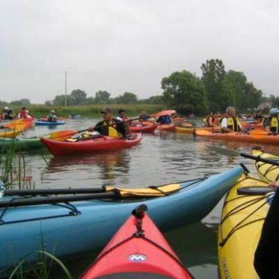 decouverte  en kayak