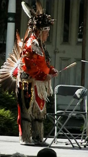 Fete des Indiens a odanak le 6 juillet 2008