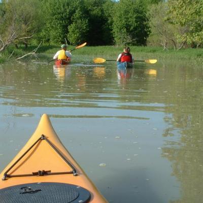 kayak  découverte